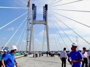 Ngày 31/3, hoàn thành cầu Vàm Cống 5.700 tỉ đồng